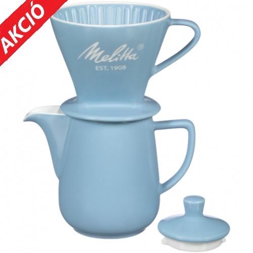 Filteres porcelán MELITTA kávéfőző + AJÁNDÉK illy őrölt kávé!
